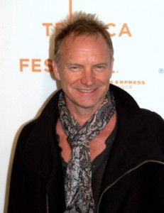 Sting! You know, like from the Police!